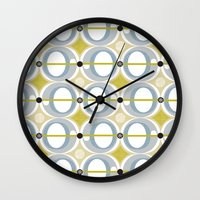airplane Wall Clocks featuring airplane by ottomanbrim