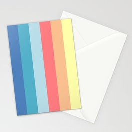 Fun Stripes - wide Stationery Cards