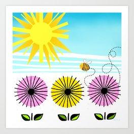 Buzzy As A Bee Art Print