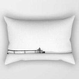 Clevedon Pier Rectangular Pillow