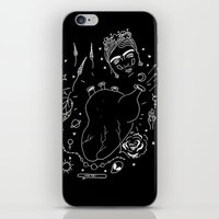 cactei iPhone & iPod Skins featuring Cactei (Inverted) by ☿ cactei ☿