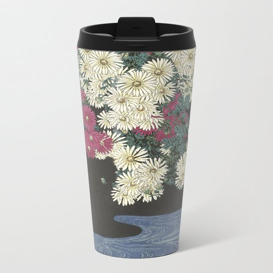 The beauty already there.  Metal Travel Mug