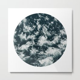 ocean porthole IV Metal Print