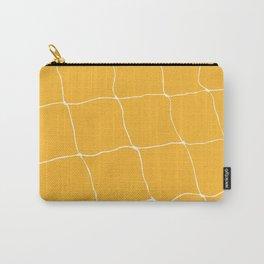 Tennis Net Pattern Carry-All Pouch
