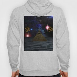 OM and the space Pyramid Hoody