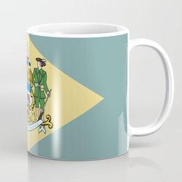 State Flag of Delaware, USA Coffee Mug