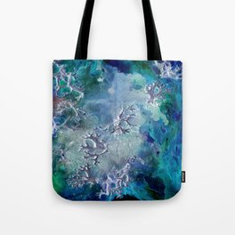 Lunar neuronal essence Tote Bag