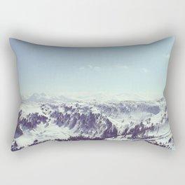 The alps Rectangular Pillow