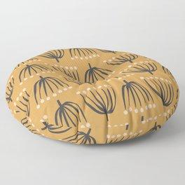 Spindly Seedlings | Ochre Floor Pillow