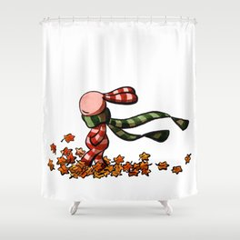 Rascheln Shower Curtain
