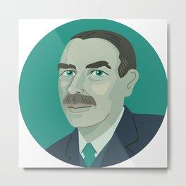 Queer Portrait - John Maynard Keynes Metal Print