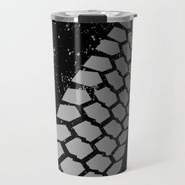 Grunge Skid Mark Travel Mug