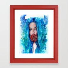 Rose Trap Framed Art Print