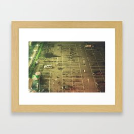 The World Below Framed Art Print