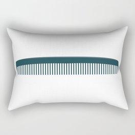 Hair Comb Rectangular Pillow