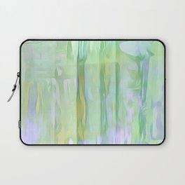 Cool Waves Of Color Abstract Laptop Sleeve