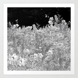 Night Chill Art Print