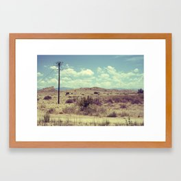 New Mexico 5 Framed Art Print