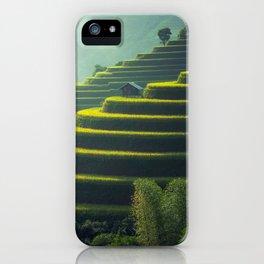 Thailand Rice Plantation iPhone Case