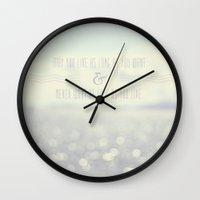 irish Wall Clocks featuring Irish Blessing by Christine Hall