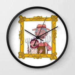 FARM GUYS  Wall Clock