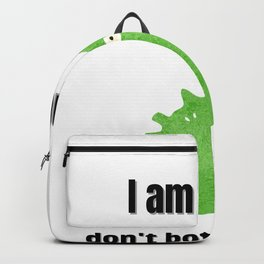 I am healty don't bother to ask! | Funny T-shirt | Funny Shirt | Covid | Funny gifts | Quarantine Backpack