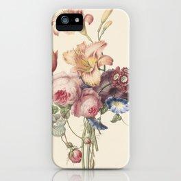 Henriëtte Geertruida Knip - a bouquet - 1820 iPhone Case