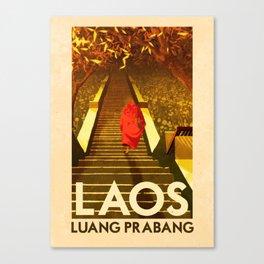Laos - Luang Prabang Canvas Print