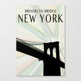 Brooklyn Bridge 3 Canvas Print