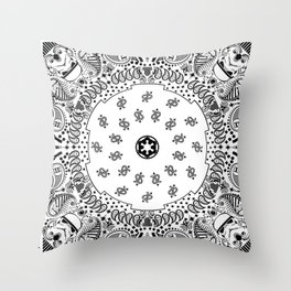Storm Troopers Flag Throw Pillow