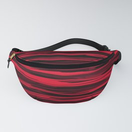 Juicy Red Apple Stripes Fanny Pack