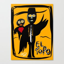 El Topo Street Art Graffiti Canvas Print