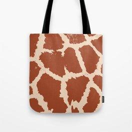 Giraffe pattern Tote Bag