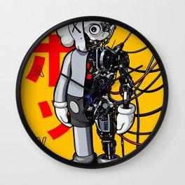 kaws art Wall Clock