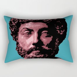 Marcus Aurelius Rectangular Pillow