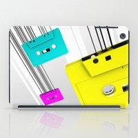 cassette iPad Cases featuring Cassette by Delaney Digital