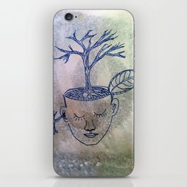 roots of thought iPhone Skin
