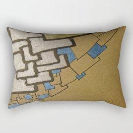 Eiffel tower Paris cube close up original artwork Rectangular Pillow
