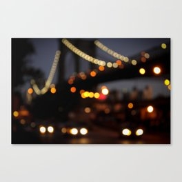 Brooklyn Bridge, NY Canvas Print