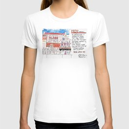 Left Field Lounge - Mississippi State T-shirt