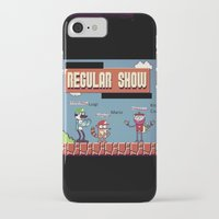regular show iPhone & iPod Cases featuring Super Regular Show Bros. by Poetic_Hoopa