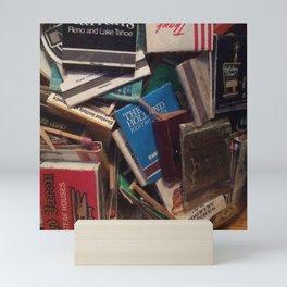 matchbook collection Mini Art Print