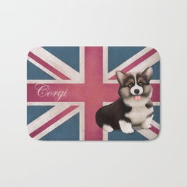 Royal Corgi Baby Bath Mat