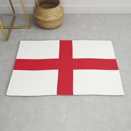 Flag of England (St. George's Cross) - Authentic version to scale and color Rug