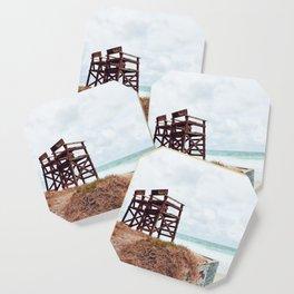 Beach Seats Coaster