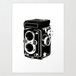 Analog power Art Print