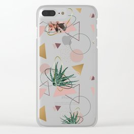 Succulents Atoms #society6 #decor #buyart Clear iPhone Case