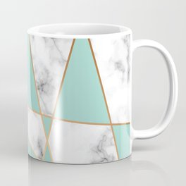 Marble Geometry 055 Coffee Mug