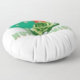 Cute Fruit & Vegetables Professional Nutritionist Floor Pillow