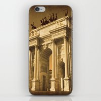 lee pace iPhone & iPod Skins featuring Arco della Pace Milan by Louisa Catharine Photography